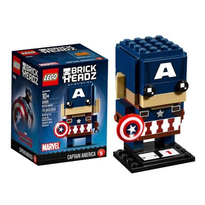 Captain America Lego BrickHeadz