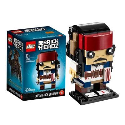 Capitán Jack Sparrow Lego BrickHeadz