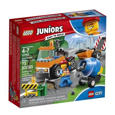 Camión de obras en carretera Lego Juniors
