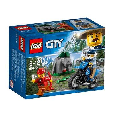 Persecución a campo abierto Lego City Police