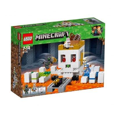 La calavera de la lucha Lego Minecraft