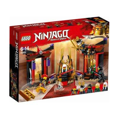 Duelo en la sala del trono Lego Ninjago