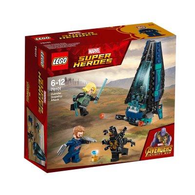 Ataque de la nave de los Outriders Lego Marvel