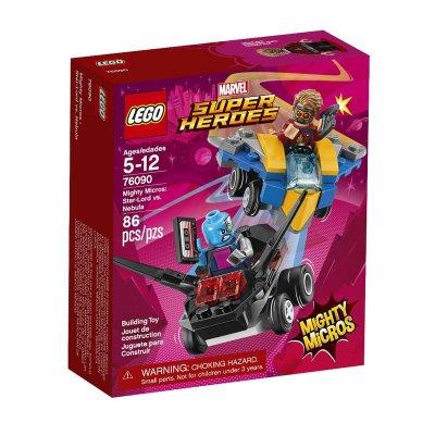 Mighty Micros: Star-Lord vs. Nebula Lego Super Heroes