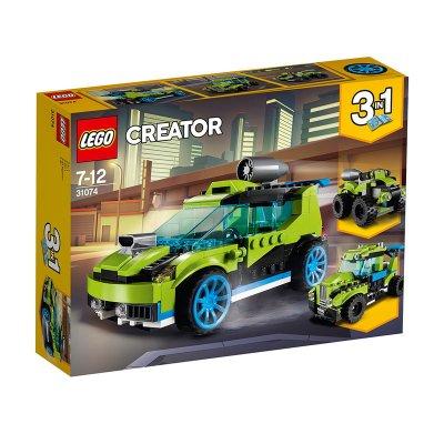 Coche de rally a reacción Lego Creator