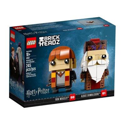 Ron Weasley y Albus Dumbledore Lego BrickHeadz