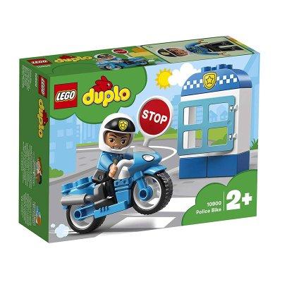 Moto de Policía Lego Duplo