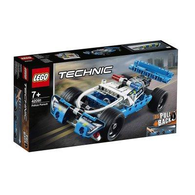 Cazador Policial Lego Technic