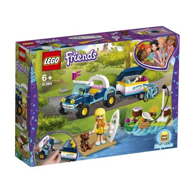 Buggy y Remolque de Stephanie Lego Friends