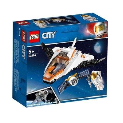 Misión: Reparar el Satélite Lego City Space Port
