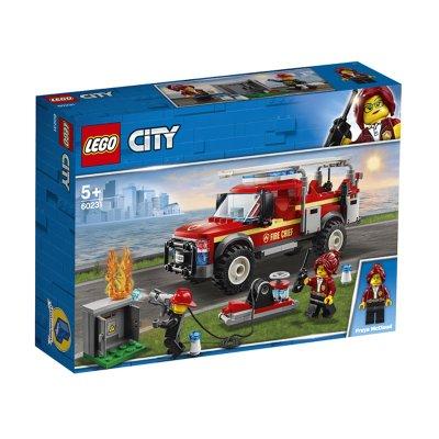 Camión de Intervención del Jefe de Bomberos Lego City