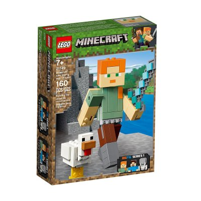 Bigfig Alex c/gallina Lego Minecraft