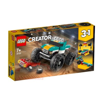 Monster Truck Lego Creator