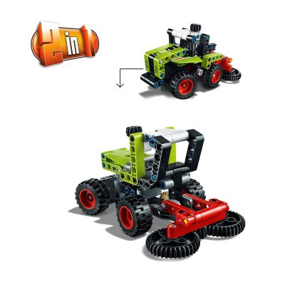 Wholesaler of Mini Claas Xerion 2 en 1 Lego Technic