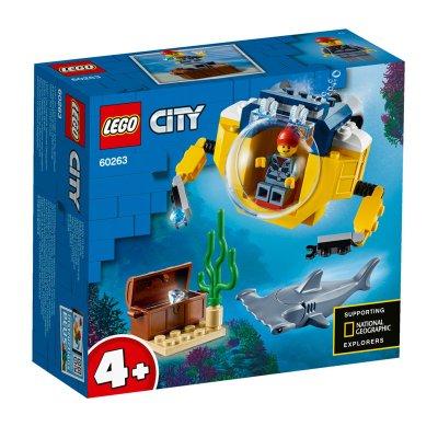 Océano: Minisubmarino Lego City