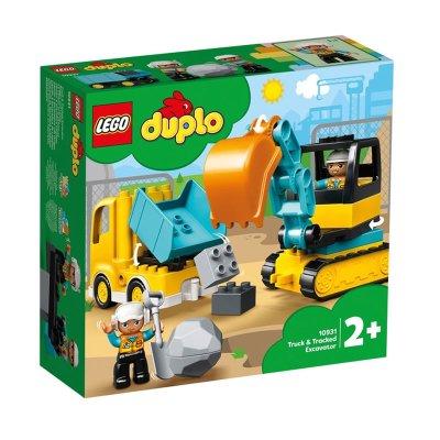 Camión y Excavadora Lego Duplo
