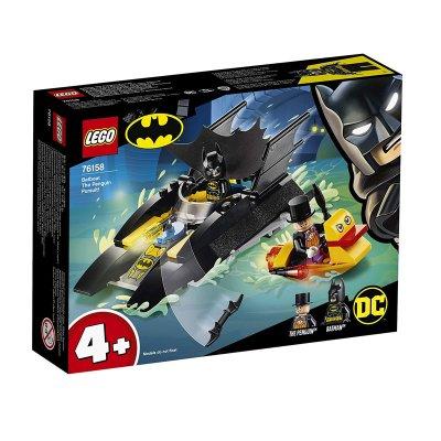 Caza del Pingüino en la Batlancha Lego DC Batman