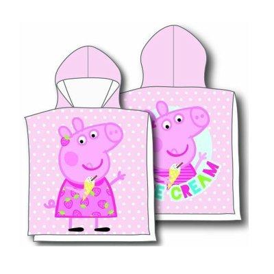 Poncho toalla con capucha microfibra Peppa Pig Dream