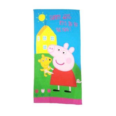 Toalla microfibra 70x140cm Peppa Pig