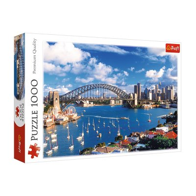 Wholesaler of Puzzle Premium Quality Port Jackson Sydney 1000pzs