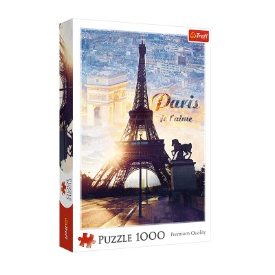 Wholesaler of Puzzle Premium Quality Amanecer París 1000pzs
