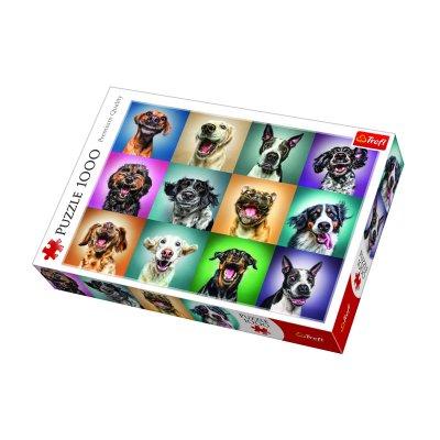 Wholesaler of Puzzle Premium Quality Retratos divertidos de perros 1000pzs