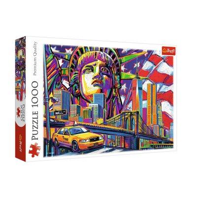 Puzzle Premium Quality Colores de Nueva York 1000pzs