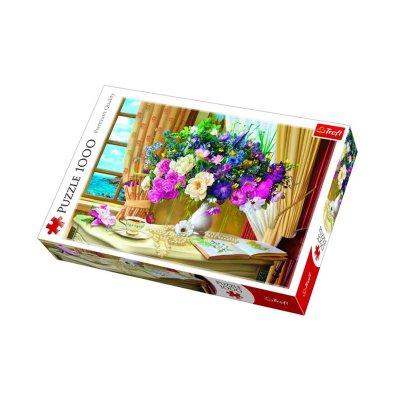Wholesaler of Puzzle Premium Quality Central Flores por la mañana 1000pzs