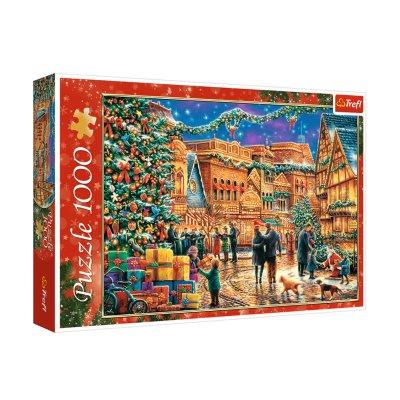 Puzzle Mercadillo de Navidad 1000pzs