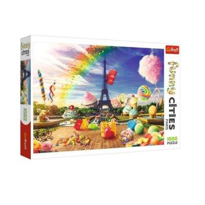 Wholesaler of Puzzle Funny Cities Dulce París 1000pz