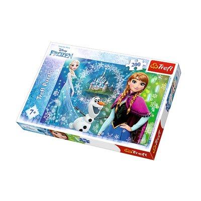 Puzzle Ana Elsa Olaf Frozen 200pzs