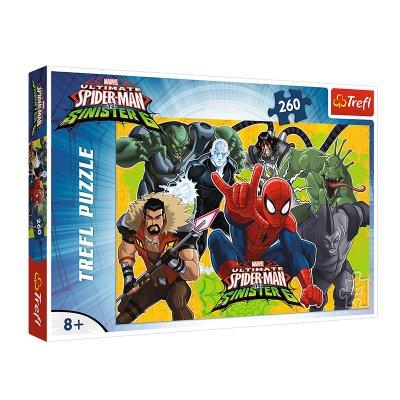 Puzzle Spiderman vs Sinister 6 Marvel 260pzs
