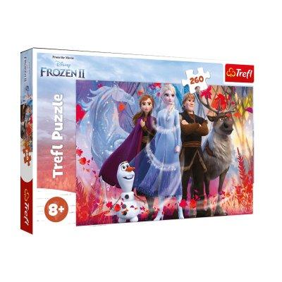 Puzzle Ana & Elsa Frozen Disney 260pzs