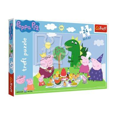 Wholesaler of Puzzle Maxi Picnic Peppa Pig 24pzs