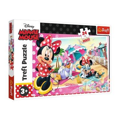 Puzzle Maxi Minnie Mouse 24pzs