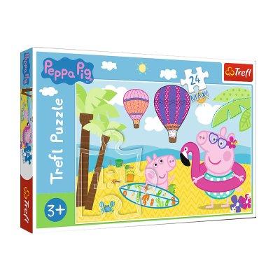 Wholesaler of Puzzle Maxi Verano Peppa Pig 24pzs