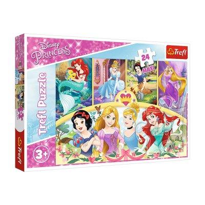 Wholesaler of Puzzle Maxi Princesas Disney 24pzs