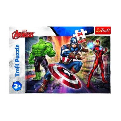 Wholesaler of Puzzle Maxi Los Vengadores Marvel 24pzs