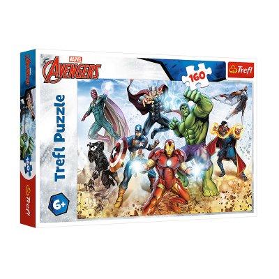 Puzzle Los Vengadores 160pzs