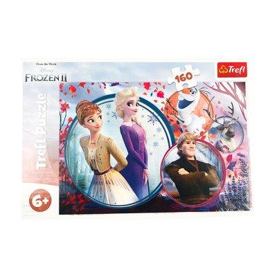 Puzzle Ana & Elsa Frozen 2 160pzs