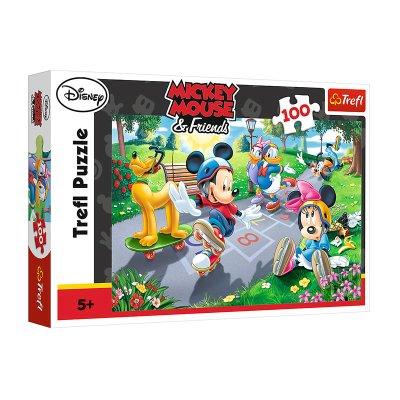 Puzzle Parque Mickey Mouse & Friends 100pzs
