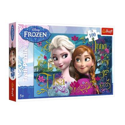 Wholesaler of Puzzle Ana & Elsa Frozen Disney 100pzs