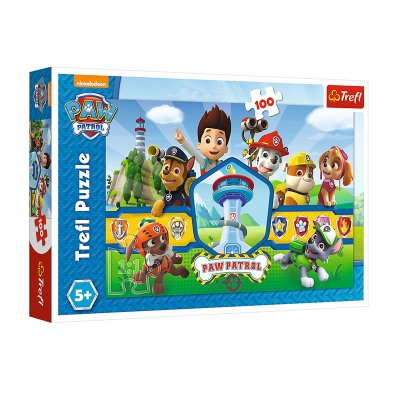Wholesaler of Puzzle Paw Patrol 100pzs