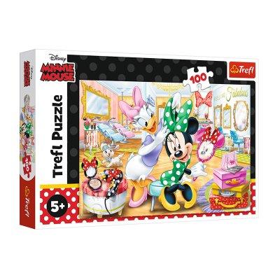 Puzzle Minnie & Daisy Disney 100pzs