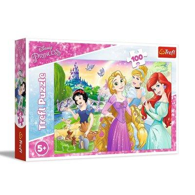 Puzzle En el jardín Princesas Disney 100pzs