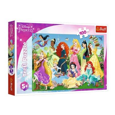 Puzzle Encantadoras Princesas Disney 100pzs