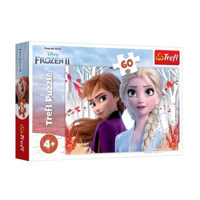 Puzzle Ana & Elsa Frozen 2 60pzs