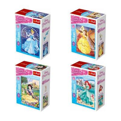 Puzzle Mini Maxi Princesas Disney 20pzs