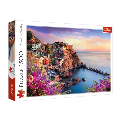 Puzzle Premium Quality Vista de Manarola Italia 1500pzs