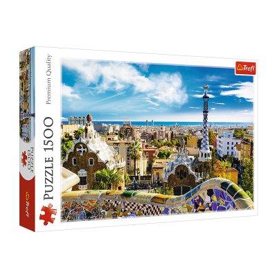Wholesaler of Puzzle Premium Quality Parque Güell Barcelona 1500pzs